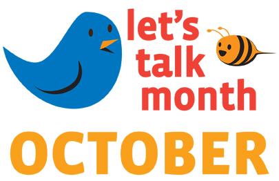 Let's Talk Month logo image