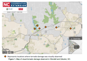 Cover photo for 2019 Tornado Damage Survey and Disaster Relief Resources