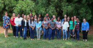 photo of the Wake county 2019 americorps vista summer associates