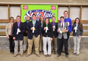 Cover photo for 2019 Southeastern Regional & NC State Fair Livestock Judging and Skillathon Contests