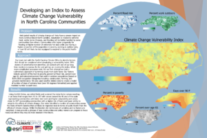 Cover photo for Developing an Index to Assess Climate Change Vulnerability in North Carolina Communities